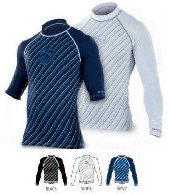 Dakine Stripes Rashguard L/S White